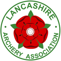 Lancashire Archery Association logo